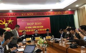 """Vĩnh Phúc phòng chống dịch Covid-19: """"Quyết liệt chống lây lan cho thủ đô Hà Nội, các tỉnh thành"""""""