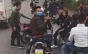"""Cái kết đắng của nhóm thanh niên đi xe máy lạng lách, """"cợt nhả"""" trước đầu xe chở tân binh"""