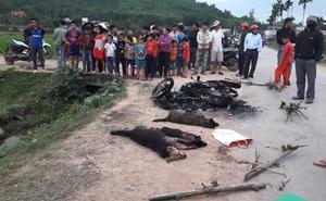 Đi câu trộm chó, 2 nam thanh niên bị vây đánh thương vong, đốt xe máy