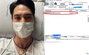 Tài tử Thái đình đám đăng ảnh cập nhật tình trạng hậu xác nhận dương tính với COVID-19, 2 đồng nghiệp tức tốc kiểm tra