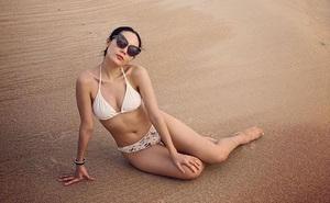 Điều gây tò mò sau loạt ảnh bikini gợi cảm của Phương Linh
