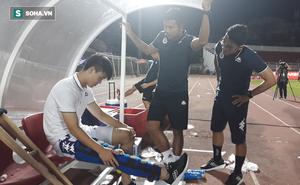 Hà Nội FC thông báo: Duy Mạnh dính chấn thương nặng ở đầu gối, sẽ ra nước ngoài phẫu thuật