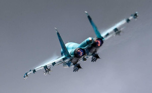 Tiêm kích Su-34 của Nga khoe uy lực đáng sợ