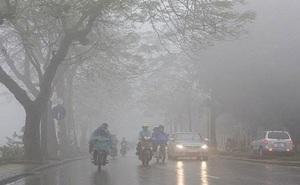 Thời tiết ngày 10/4: Hà Nội nhiều mây và sương mù