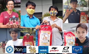 """COVID-19: Thái Lan tặng gạo và tương ớt để """"cứu đói"""" cho phóng viên thể thao"""
