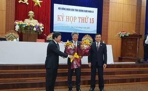 Ông Hồ Quang Bửu giữ chức Phó Chủ tịch UBND tỉnh Quảng Nam