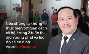 PGS.TS Nguyễn Huy Nga trả lời câu hỏi 'liệu Việt Nam có đỉnh dịch Covid-19 hay không?'