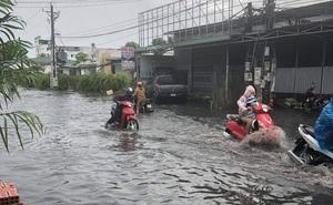 """Mưa lớn nhiều giờ bất ngờ đổ xuống """"đảo ngọc"""" Phú Quốc"""