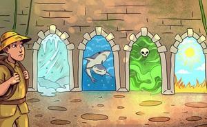 Nhìn tranh phán đoán: Người đàn ông sẽ chọn cánh cửa nào để thoát khỏi ngôi nhà kỳ bí?