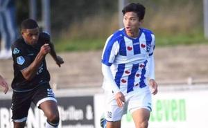 HLV Heerenveen: Đoàn Văn Hậu bật nhảy tốt nhưng bứt tốc chưa nhanh