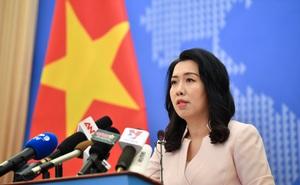 """Bộ Ngoại giao Việt Nam thông tin thêm về cuộc điện đàm với """"Bộ tứ kim cương"""""""