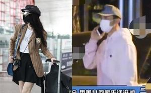 """Phạm Băng Băng xuất hiện sang chảnh ở sân bay, trong khi """"tình cũ"""" Lý Thần thì bị bắt gặp đi bar rồi đưa hai cô gái lạ về nhà"""