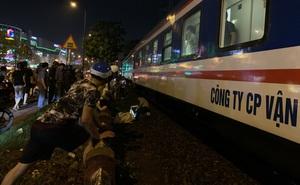 Người đàn ông bị tàu tông tử vong ở Sài Gòn