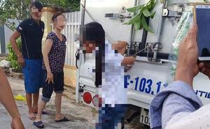 """Bé gái ở Quảng Bình bị người thân trói quặt 2 tay vào thùng xe tải, cạnh đó là dòng chữ """"phạt trộm tiền"""""""