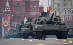 """NI: Vừa nổ tung trên mặt trận ảo thì lại bị phá hủy ở Syria, T-14 Nga """"dễ xơi"""" như bao xe tăng khác?"""
