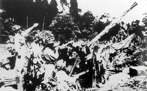 Pháo cao xạ - điều bất ngờ với quân Pháp tại Điện Biên Phủ