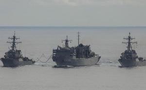 """Nga bị dàn chiến hạm uy lực """"chiếu tướng"""" ngay trên sân nhà"""