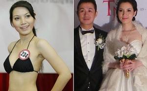 Sắc vóc vợ hai kém 14 tuổi của MC Anh Tuấn thời đi thi Hoa hậu Việt Nam