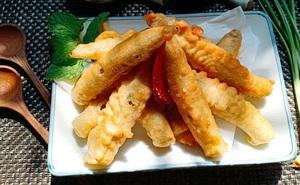 Học người Nhật làm tempura đậu bắp: Tưởng không ngon mà ngon không tưởng!