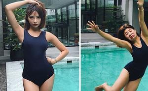 Người mẫu Thái Lan gây sốt bằng bộ ảnh 'Instagram vs thực tế' khoe nhan sắc xinh hết nút đi kèm với sự thật hết hồn