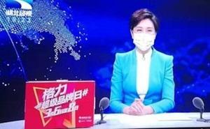 Lo sợ Virus Corona nguy hiểm, các MC và phóng viên ở 'ổ dịch' Vũ Hán cũng phải đeo khẩu trang khi lên hình
