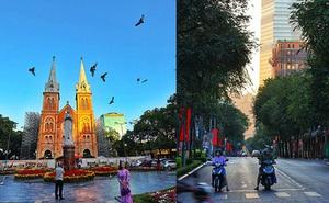 """Chùm ảnh """"cực phẩm"""" 1 năm chỉ có 1 lần cảnh đường phố Sài Gòn vắng vẻ khác lạ, cảm giác quá đỗi thanh bình vào sáng mùng 1 Tết"""