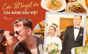 """Đang bầu 2 tháng vẫn """"cua"""" được trai độc thân ngoại quốc, người phụ nữ Việt tiết lộ hình ảnh ăn Tết trên đất Đức với sự """"tạo điều kiện"""" hết mực của ông xã"""