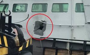 Ukraine tung bằng chứng tố cáo Nga cố tình bắn tàu tuần tra nước này