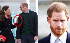 """Công nương Kate hiếm hoi công khai thể hiện tình cảm với chồng trong khi Harry """"gặm nhấm"""" nỗi nhớ nơi xứ người"""