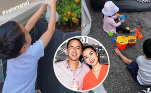 Cách dạy con đáng nể của vợ chồng Hà Tăng: 2 nhóc tỳ chưa được 5 tuổi đã biết tự lập, khả năng tiếng Anh đúng là không vừa