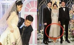 """Chỉ 1 bức ảnh chụp cùng Đức Phúc mà cô dâu Quỳnh Anh để lộ điểm đặc biệt ở chiếc """"váy cưới cổ tích"""""""