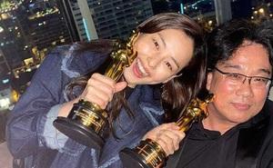 """Bị chỉ trích nặng nề, """"Hoa hậu nóng bỏng nhất Hàn Quốc"""" phải cúi đầu xin lỗi khi có hành động này với đoàn phim """"Ký sinh trùng"""" vừa nhận giải Oscar"""