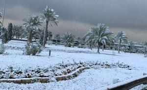 Tuyết rơi ở Baghdad lần đầu sau nhiều thập kỷ