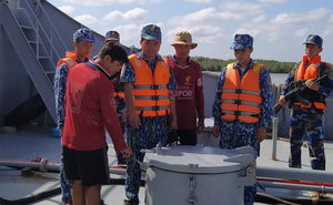 Kiên Giang: Bắt giữ tàu chở 100.000 lít dầu DO bất hợp pháp