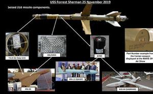 """Vây ráp trên biển, Mỹ tịch thu hàng trăm tên lửa """"độc và lạ"""" chỉ Iran mới có"""