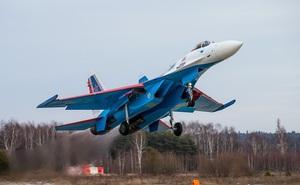 """Mãn nhãn với khả năng tác chiến của """"vua chiến trường Syria"""" Su-35S"""