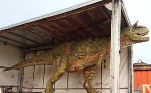 Đặt mua khủng long đồ chơi trên mạng cho con trai mà 'quên' không hỏi kích thước, ông bố tá hỏa khi hàng được chuyển đến tận nhà