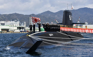 Tàu ngầm tấn công hiện đại nhất Nhật Bản đi vào hoạt động