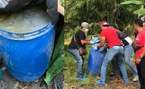 Phát hiện chiếc thùng nhựa chứa đầy xi măng và thi thể người đàn ông bị em trai giết hại chỉ vì một chiếc áo
