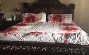 Chồng tự tay trang trí phòng ngủ để hâm nóng 'cuộc vui', ngờ đâu khiến vợ hết hồn vì tưởng nhà có án mạng