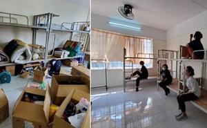 Chuyện về những người trẻ thầm lặng dọn sạch hàng nghìn căn phòng ngập bụi cho du học sinh về cách ly tại KTX ĐHQG