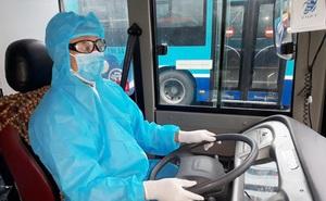 Tâm sự của tài xế xe buýt đưa người hết cách ly về địa phương