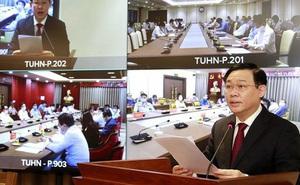 Bí thư Thành ủy Vương Đình Huệ: Hà Nội phải tiên phong trên mặt trận phục hồi kinh tế