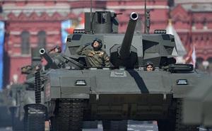 Đồn đoán sốc về xe tăng tối tân T-14 Armata của Nga