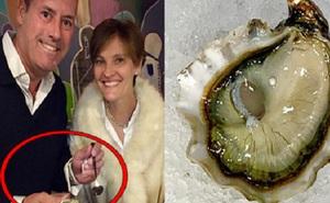 Dùng bữa ở nhà hàng, cặp vợ chồng vô tình ăn trúng vật thể lạ và phát hiện đó là món đồ quý trị giá hàng trăm triệu đồng
