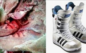 """Xác ướp 1100 tuổi đi giày trông y hệt sneaker của Adidas khiến giới khoa học phải ngỡ ngàng vì độ """"sành điệu"""""""