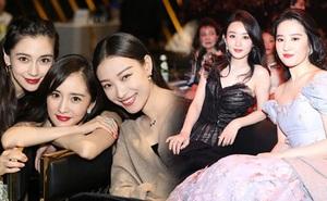 """Những nàng công chúa Cbiz chung khung hình: Angela Baby - Nhiệt Ba """"chấp"""" cả dàn mỹ nhân, Lưu Diệc Phi khiến fan ngã ngửa"""