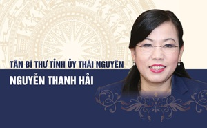 Chân dung tân Bí thư Tỉnh uỷ Thái Nguyên Nguyễn Thanh Hải