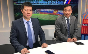 """""""Song kiếm"""" BLV Quang Tùng – Quang Huy chọn QBV Việt Nam"""