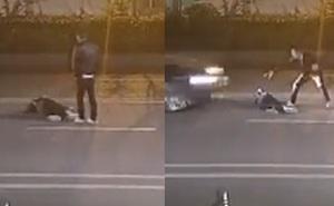 Cặp tình nhân cãi nhau trên đường chỉ vì mâu thuẫn nhỏ, vô tình làm hại đến con mình sau một hành động nông nổi